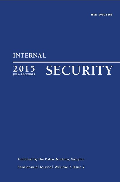 Praca Zbiorowa - Internal Security (july-december) Vol. 7/1/2015