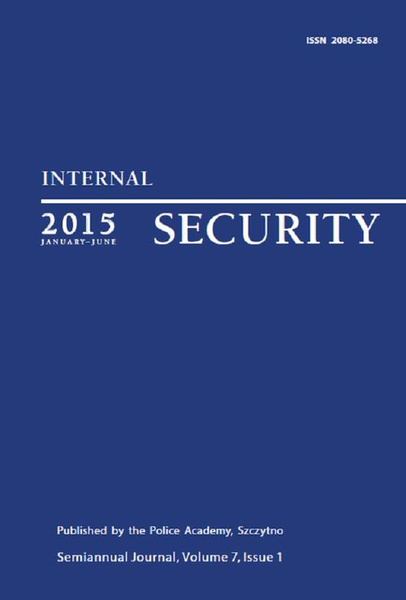 Praca Zbiorowa - Internal Security (January-June) Vol. 7/1/2015
