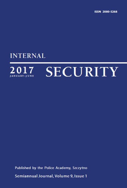 Praca Zbiorowa - Internal Security (January-June 2017) Vol. 9/1/2017