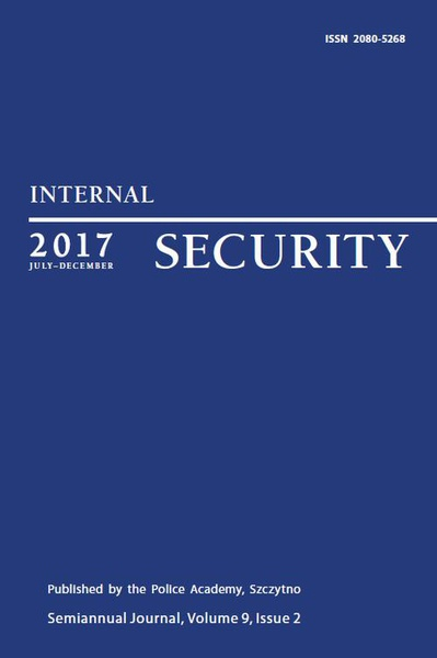 Praca Zbiorowa - Internal Security (July-December 2017) Vol. 9/2/2017